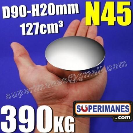 IMÁN NEODIMIO 90x20mm