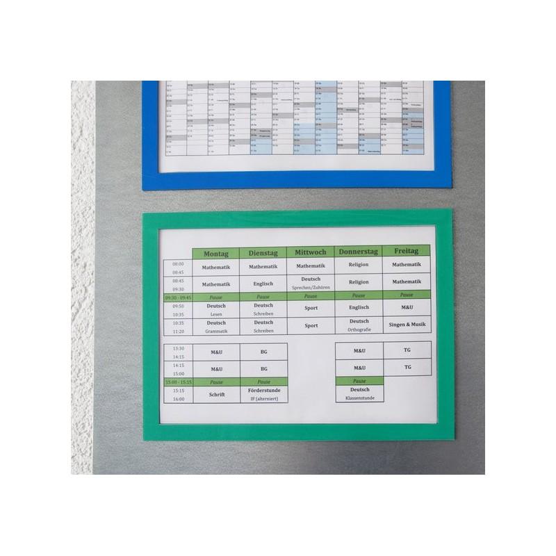 Marco magnético para colgar notas, formato A5