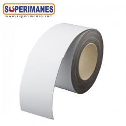 IMÁN PVC BLANCO 1 CARA. Ancho 20 cm